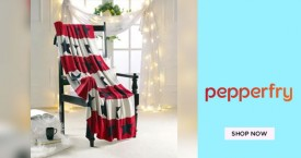 Pepperfry Upto 60% Off on Blankets.