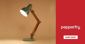 Pepperfry Upto 35% OFF on Study Lamp