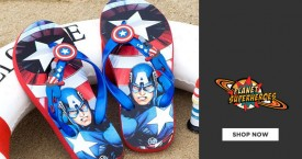 Planetsuperheroes Best Price : Buy 2 Flip Flop For Rs. 599
