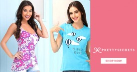 Prettysecrets Fantastic Offer: Grab Best Deals on Women's Tanks & Tees