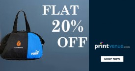 Printvenue Flat 20% OFF on Branded Pens, Pen Drives, Seals And More