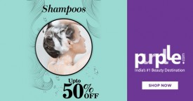Purplle Special Offer : Upto 50% Off on Hair Shampoos