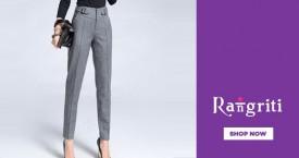 Rangriti Rangriti Best Offer  : Upto 50% OFF on Women's Slim Pants