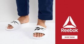 Reebok Flash Sale: Upto 50% OFF on Men's Sandals and Slippers