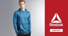 Reebok Exclusive Deals: Upto 40% OFF on Sweatshirts for Men's