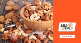 Salebhai Salebhai Offer : Get Upto 50% OFF on Dry Fruits