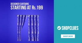 Shopclues Designer Curtain Starting From Rs. 199