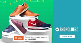 Shopclues Special Shopclues Offer : Upto 65% OFF on Essence Men's Footwear