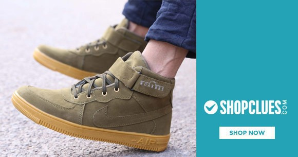 Shopclues Deal : Men's Casual Shoes At Rs. 299