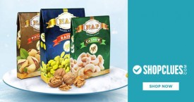 Shopclues Best Deal : Upto 50% OFF on Dry Fruits, Nuts & Seeds