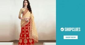Shopclues Women's Ethnic Wear - Upto 70% OFF