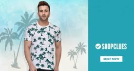 Shopclues T-Shirts Upto 60% - 80% OFF