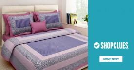 Shopclues Bedsheets Starting At Rs. 249