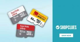 Shopclues Memory Cards - Upto 40% OFF
