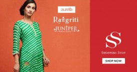 Shoppers stop Upto 60% Off on Aurelia, Rangrit  & Juniper.