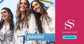 Shoppers stop Flat 50% Off on Global Desi.