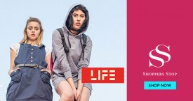 Shoppers stop Upto 40% Off on Life.