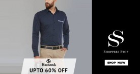 Shoppers stop Upto 60% OFF on Hancock
