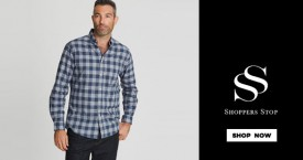 Shoppers stop Shirts & Trousers - Upto 50%  OFF