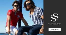 Shoppers stop Special Offer : Get 25% OFF on Men's Autumn Winter Collection