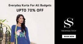 Shoppers stop Upto 70% OFF on Everyday Kurta