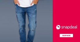 Snapdeal Min 40% OFF on Men's Jeans