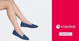 Snapdeal Upto 60% OFF on Ballerinas Women's Footwear