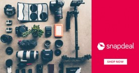 Snapdeal Special Deal : Upto 70% OFF on Cameras Accessories & More
