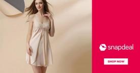 Snapdeal Upto 60% OFF on Lingerie & Sleepwear