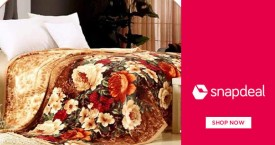 Snapdeal Special Offer : Winter Furnishing Starting From Rs. 199
