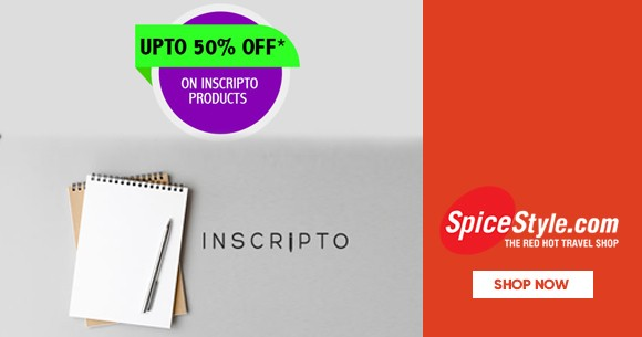 Hot Deal : Upto 50% Off on Inscripto Products Pen, Dairy etc.