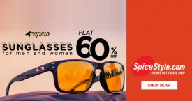 Spicestyle Great Offer : Flat 60% Off on Sunglasses