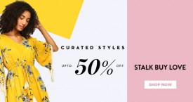 Stalkbuylove Upto 50% OFF on Curated Style