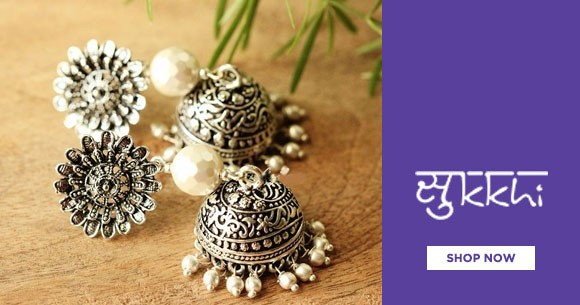 Sukki Sale : Buy Earrings Starting From Rs. 339