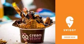 Swiggy Exclusive Deal : Get Master Chef Edition Ice Creams From Cream Stone