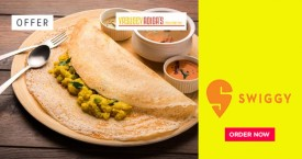 Swiggy Free Delivery From Adiga's.