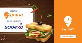 Swiggy Sodexo - Get 50% Discount On Using Sodexo On Your First Order