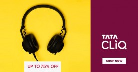 Tatacliq Upto 75% OFF on Headphones