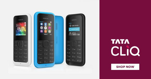 TataCliq Special Deal : Upto 60% OFF on Features Phones
