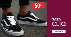 Tatacliq Hot Deal : Upto 50% OFF on Sneakers Footwear
