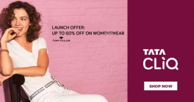 Tatacliq Upto 60% OFF on Tom Tailor Women's Wear