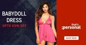 Thatspersonal Baby Doll Dresses Upto 60% OFF