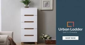 Urbanladder Urban Ladder Special Offer : Upto Rs. 6000 OFF on Bedroom Storage