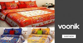 Voonik Bed And Sofa Covers Starts At Rs. 350