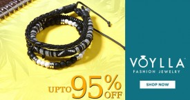 Voylla Stock Clearance Sale : Upto 95% Off On Men's Jewellery