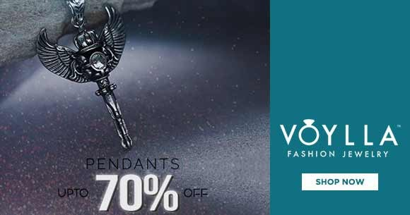 Hot Deal : Men Stylish Pendants Upto 70% Off
