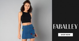 Faballey Hot Deal : Upto 60% Off on Women's  Skirts