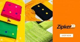 Zipker Flat Rs. 100 Off on All Party Wear Dresses