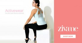 Zivame Special Offer : New Activewear Collection 40% - 60% OFF