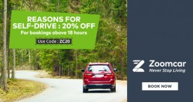 Zoomcar Zoomcar October Special Offer : Upto Rs. 2000 OFF on Self-Drive Bookings